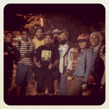 Saya, Sepeda dan B2W Palembang
