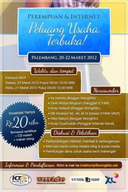 Seminar dan Workshop ICT For Women