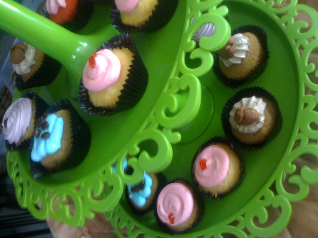 Cupcake Seru ala The Cure Cupcake